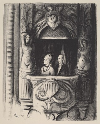 Untitled (Couple at Opera)