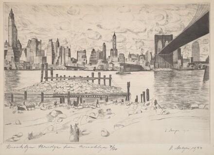 Brooklyn Bridge From Brooklyn