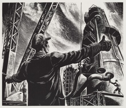 Untitled (Refinery Exterior)