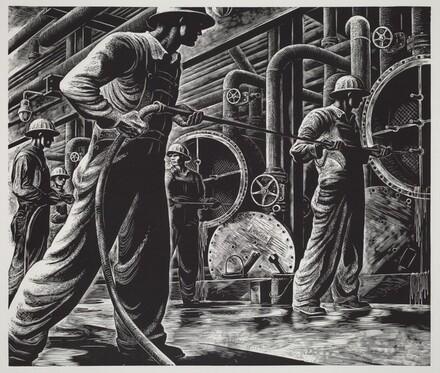 Untitled (Refinery Interior II)