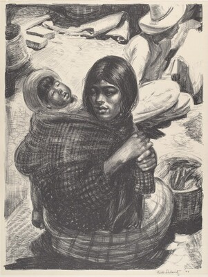 Untitled (Mexican Mother and Child)
