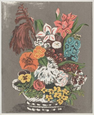 Untitled (Basket of Flowers)