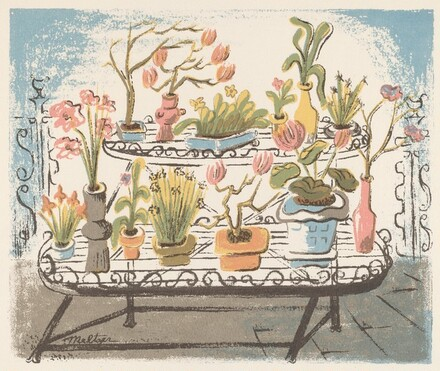 Untitled (Potted Plants)