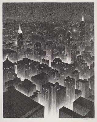 Untitled (Manhattan at Night)