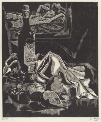 Still Life With Figure