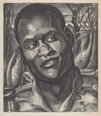 Portrait of Paul Robeson