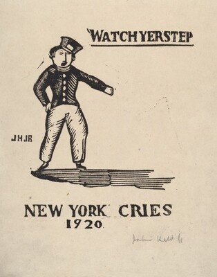 Watch Yer Step New York Cries