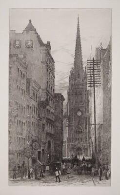 Old Trinity & Wall Street