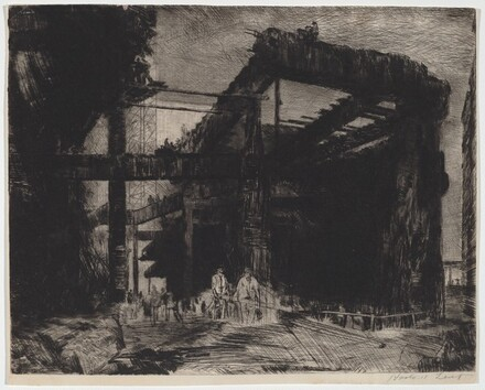 Untitled (Steel Girder Construction)