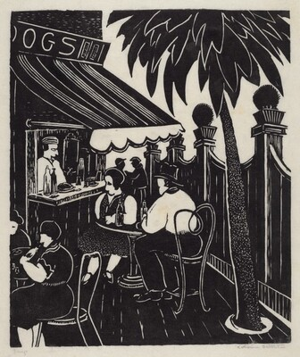 Untitled (Hot Dog Stand)