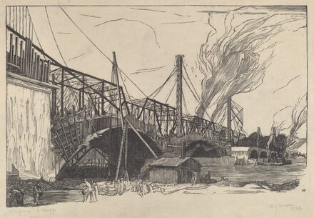 Untitled (Bridge Construction)