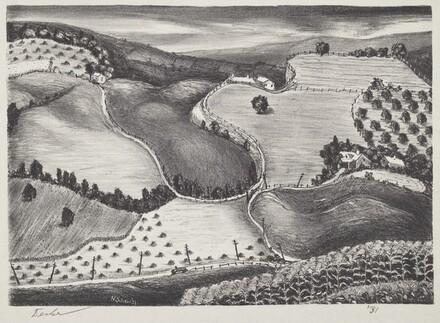 Untitled (Woodstock Landscape)
