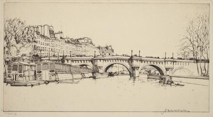 Le Pont Neuf - Vu des Ecluses, Paris