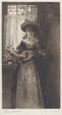 The Mandolin Player