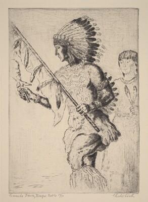 Comanche Dance, Tesuque Pueblo