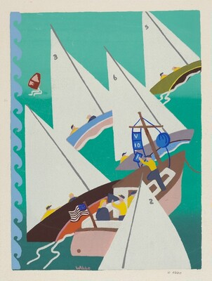 Untitled (Sailboat Race)