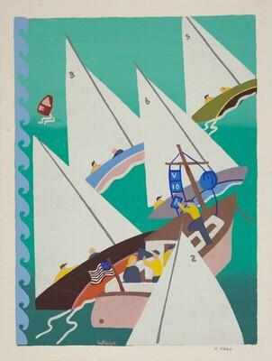 Untitled (Sailboat Race)