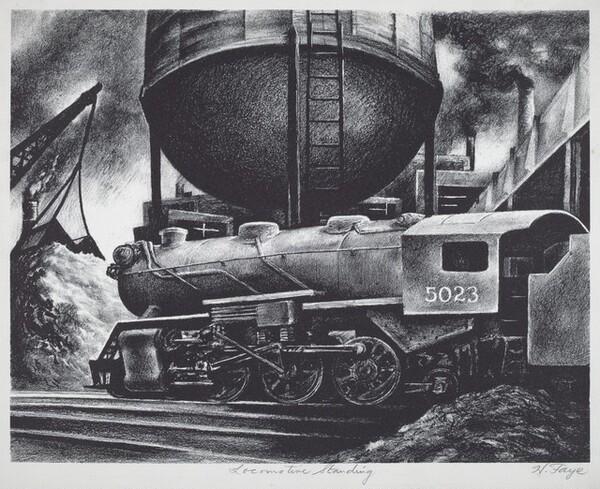 Locomotive Standing