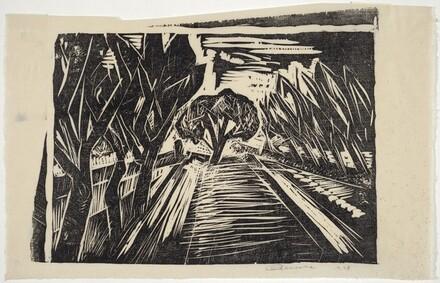 Untitled (Treelined Road)