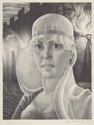 Lady Macbeth (Self-Portrait)