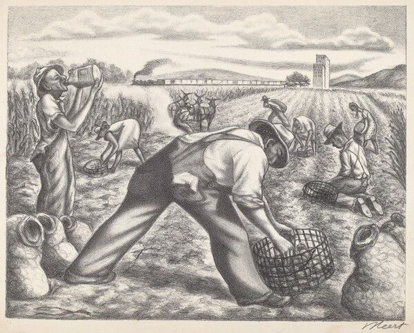 Untitled (Work in the Fields)