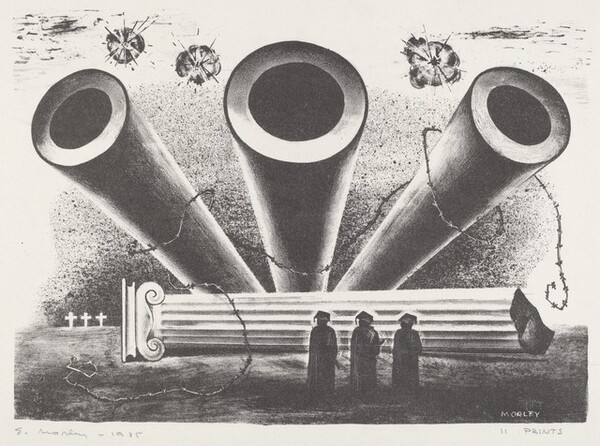 Untitled (Cannons and Students)