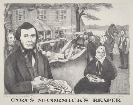 Cyrus McCormicks Reaper