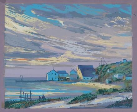 Coastline Scene