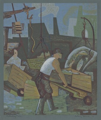 Unloading Fish, 4 a.m.