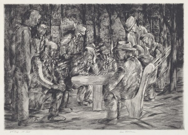 Untitled (Chess in the Park)