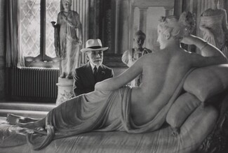 Bernard Berenson at Ninety, Visiting the Borghese Gallery, Rome