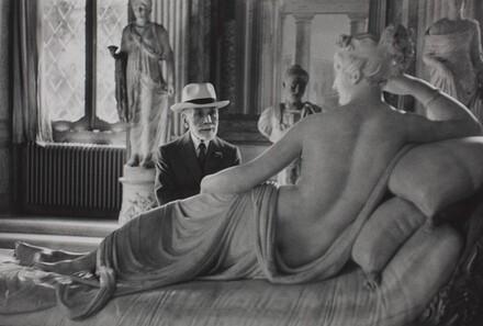 Bernard Berenson at Ninety, Visiting the Borghese Gallery, Rome