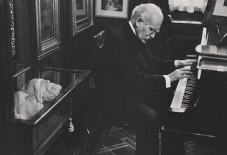 Arturo Toscanini in His Home, Milan