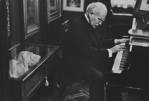 Arturo Toscanini in His Home, Milan