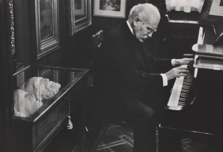 David Seymour (Chim), Arturo Toscanini in His Home, Milan, 1954, printed 1982