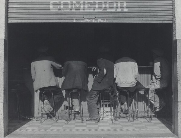 Los agachados (The crouched ones)