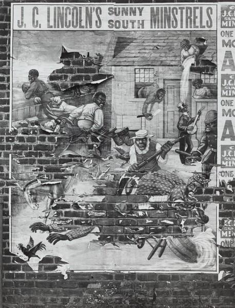 Minstrel Poster, Alabama, 1936