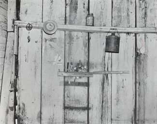 Kitchen Wall, Alabama Farmstead, 1936