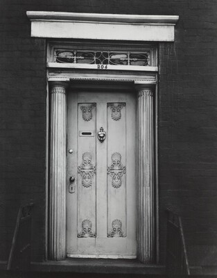 Doorway, 204 West 13th Street, New York City, around 1931