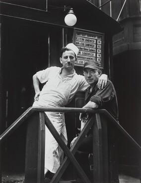 Lunchroom Buddies, New York City, 1931