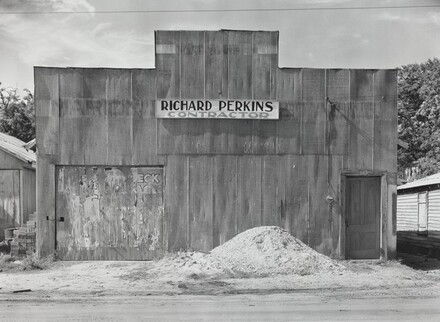 Tin False Front Building, Moundville, Alabama, 1936