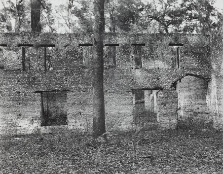 Ruin of Tabby (Shell) Construction, St. Mary's, Georgia, 1936