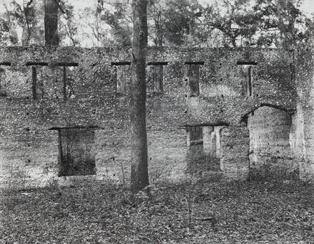 Ruin of Tabby (Shell) Construction, St. Mary's, Georgia, 1936