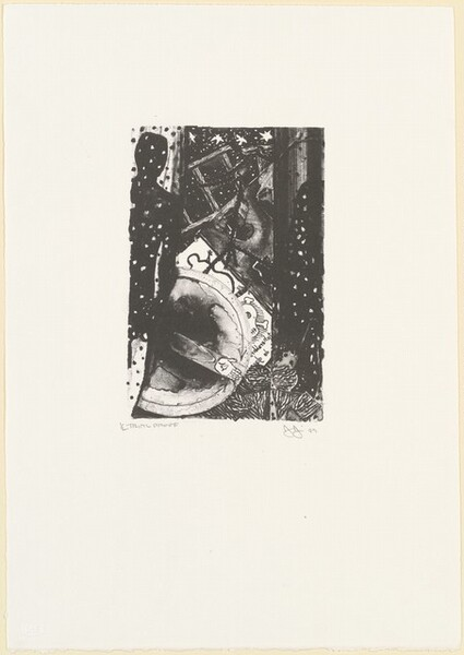 Winter [1/2  trial proof direct litho]
