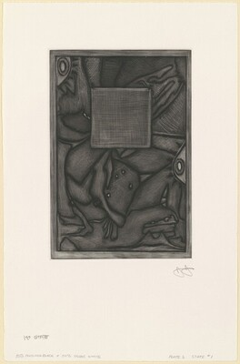 Untitled (Orange Mezzotint) [1st state]