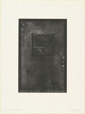 Untitled (White Mezzotint) [1st element 1st state]