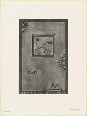 Untitled (White Mezzotint) [1st element 2nd state 1/2]