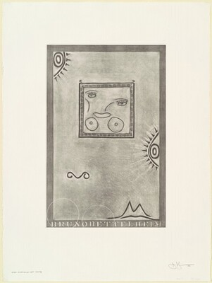 Untitled (White Mezzotint) [1st element 4th state]