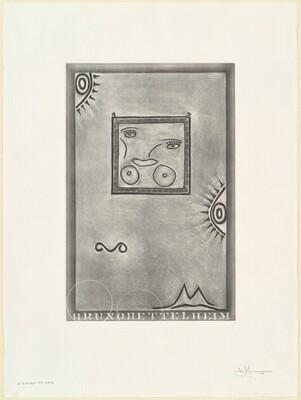 Untitled (White Mezzotint) [1st element 5th state]