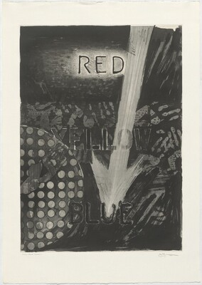 Untitled (Red) [trial proof (black)]
